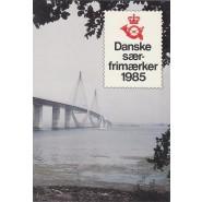 DK Årsmappe 1985 - Med Særfrimærker
