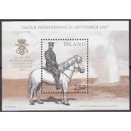 ISL 1158 Postfrisk miniark