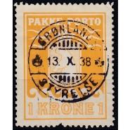 GR PP 14 LUX Stål Stemplet 1 krone - med fejl