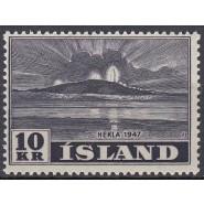 ISL 0254 Postfrisk 10 kr.