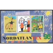 FØ  292-294 Postfrisk miniark
