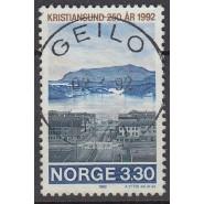 NO  1097 LUX/PRAGT stemplet 3,30 kr