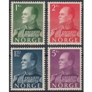 NO  0437-0440 Postfriske Konger