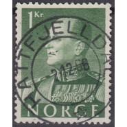 NO  0437 LUX/PRAGT stemplet (HATTFJELLDAL) 1 kr.
