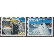 GR 385-386 Postfrisk serie