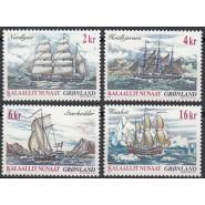 GR 390-393 Postfrisk serie