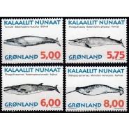 GR 308-311 Postfrisk serie hvaler