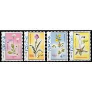 FØ  156-159 Postfrisk serie Blomster