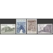 FØ  169-172 Postfrisk serie Magnuskatedralen