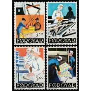 FØ  188-191 Postfrisk serie