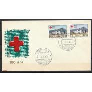 ISL - FDC 376-377 - Røde Kors