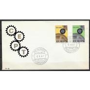 ISL - FDC 410-411 - Europamærker