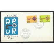 ISL - FDC 418-419 - Europamærker