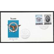 ISL - FDC 456-457 - Patriotisk Selskab 100 år