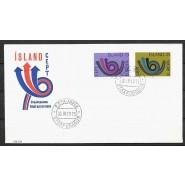 ISL - FDC 472-473 - Europamærker