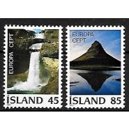 ISL 0523-0524 Postfrisk serie