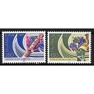 ISL 0579-0580 Postfrisk serie