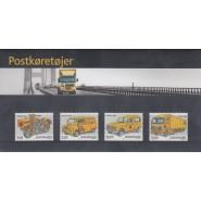 DK Souvenirmappe nr. 048 - Postkøretøjer