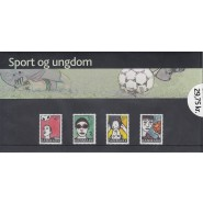 DK Souvenirmappe nr. 051 - Sport og ungdom