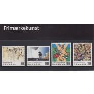 DK souvenirmappe nr. 058 - Frimærkekunst