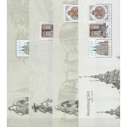 DK 1466-1469 Postfrisk sæt miniark fra PRH 04