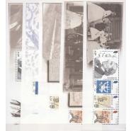 DK 1426-1430 Postfrisk sæt miniark fra PRH 03