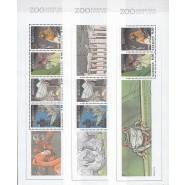 DK 1582-1584 Postfrisk sæt miniark fra PRH 07