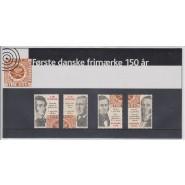 DK Souvenirmappe nr. 042 - Første DK frimærke