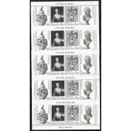 SV - 1088-1091  Fem stk postfriske Miniark