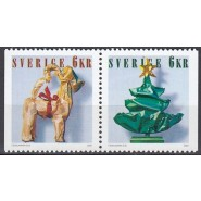 SV - 2186-2187 Postfrisk parstykke